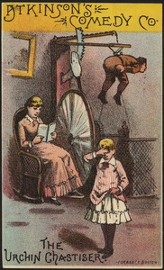 Atkinson's Comedy Co., the urchin chastiser