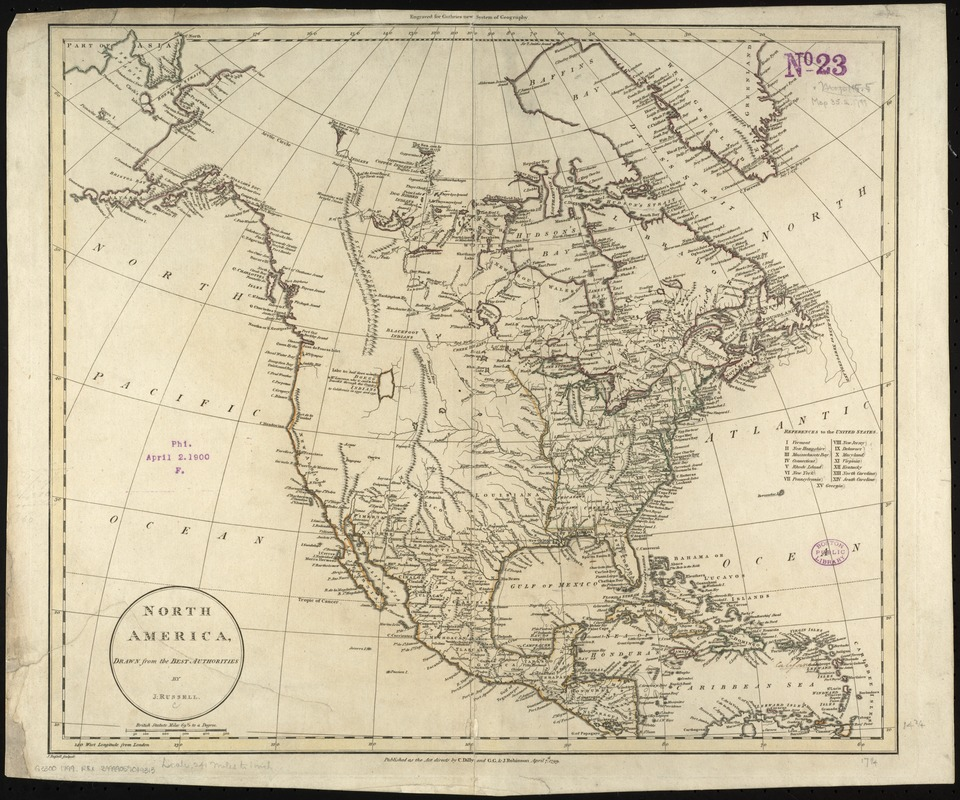 North America, drawn from the best authorities