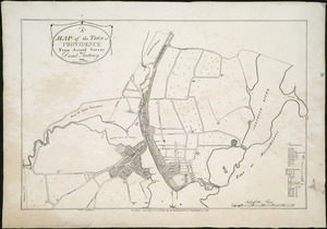 A map of the town of Providence from actual survey