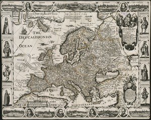 A new, plaine & exact map of Europe