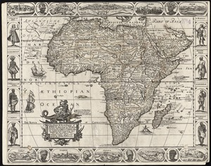 A new, plaine, & exact mapp of Africa