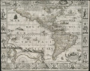 A new, plaine, and exact map of America