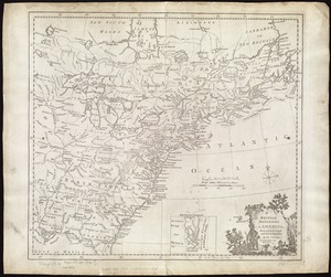 British dominions in America, drawn from the latest and best authorities