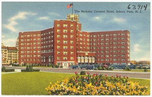 The Berkeley Carteret Hotel, Asbury Park, N. J.