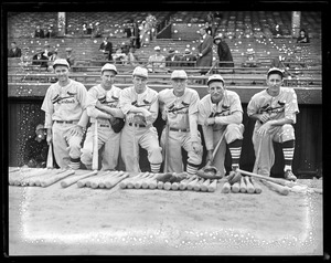 St. Louis Cardinals at Braves Field