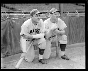 Billy Herman with Cubs teammate