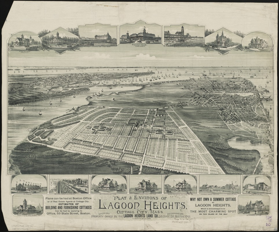 Plat & environs of Lagoon Heights