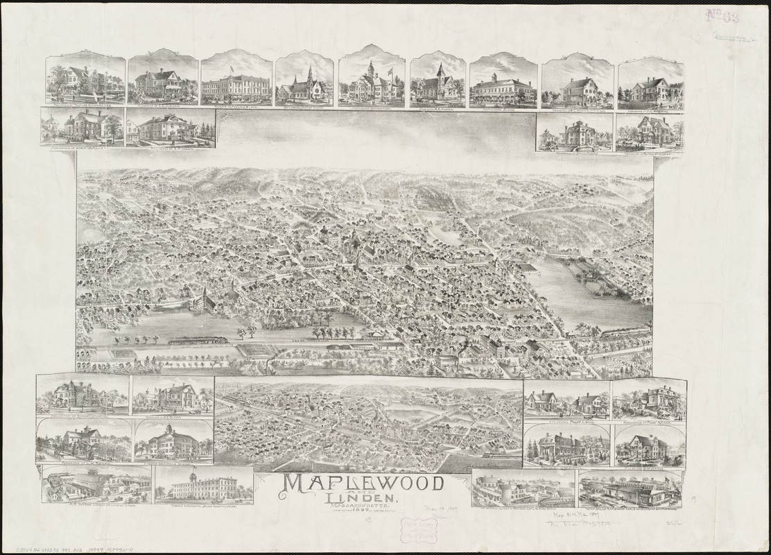 Maplewood and Linden, Massachusetts, 1897