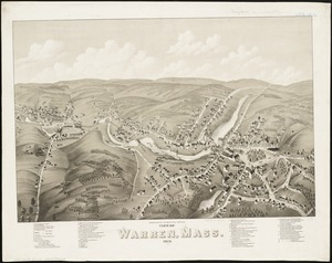 View of Warren, Mass