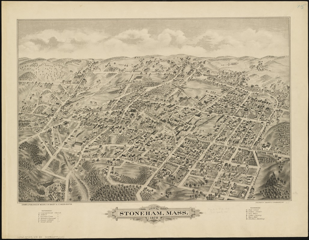 View of Stoneham, Mass