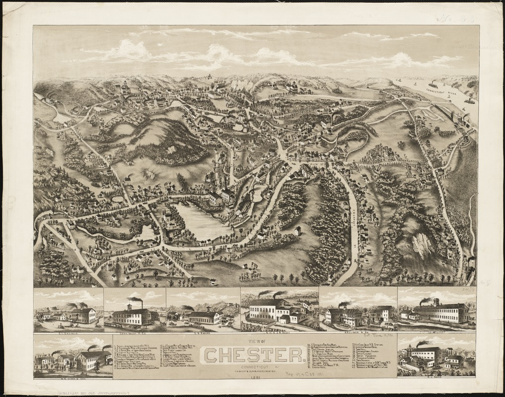 View of Chester, Connecticut