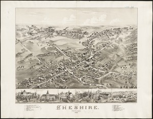 View of Cheshire, Connecticut