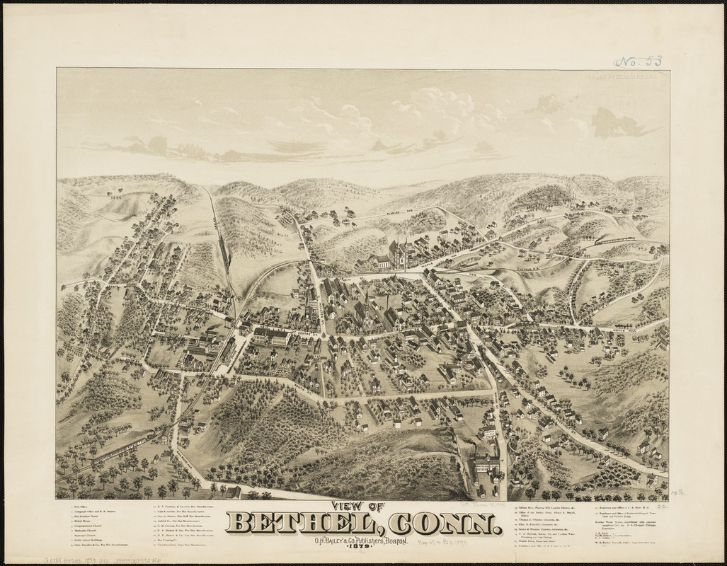 View of Bethel, Conn