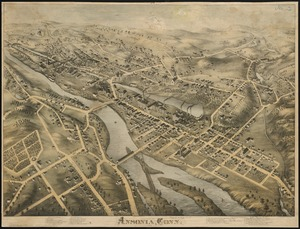 View of Ansonia, Conn