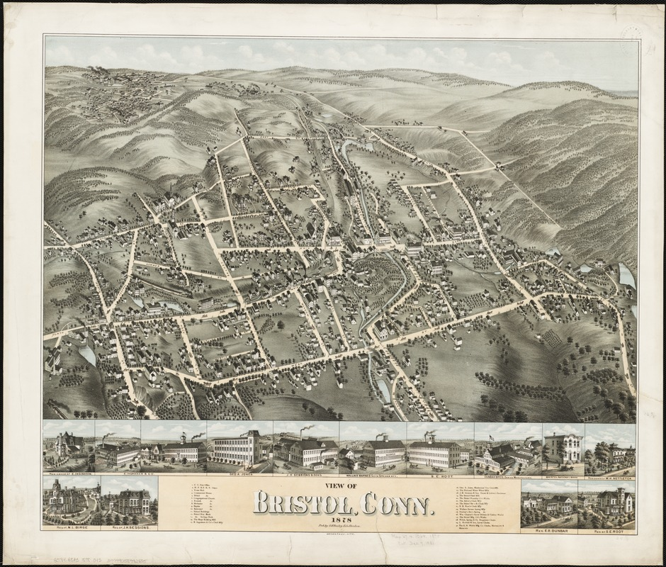 View of Bristol, Conn