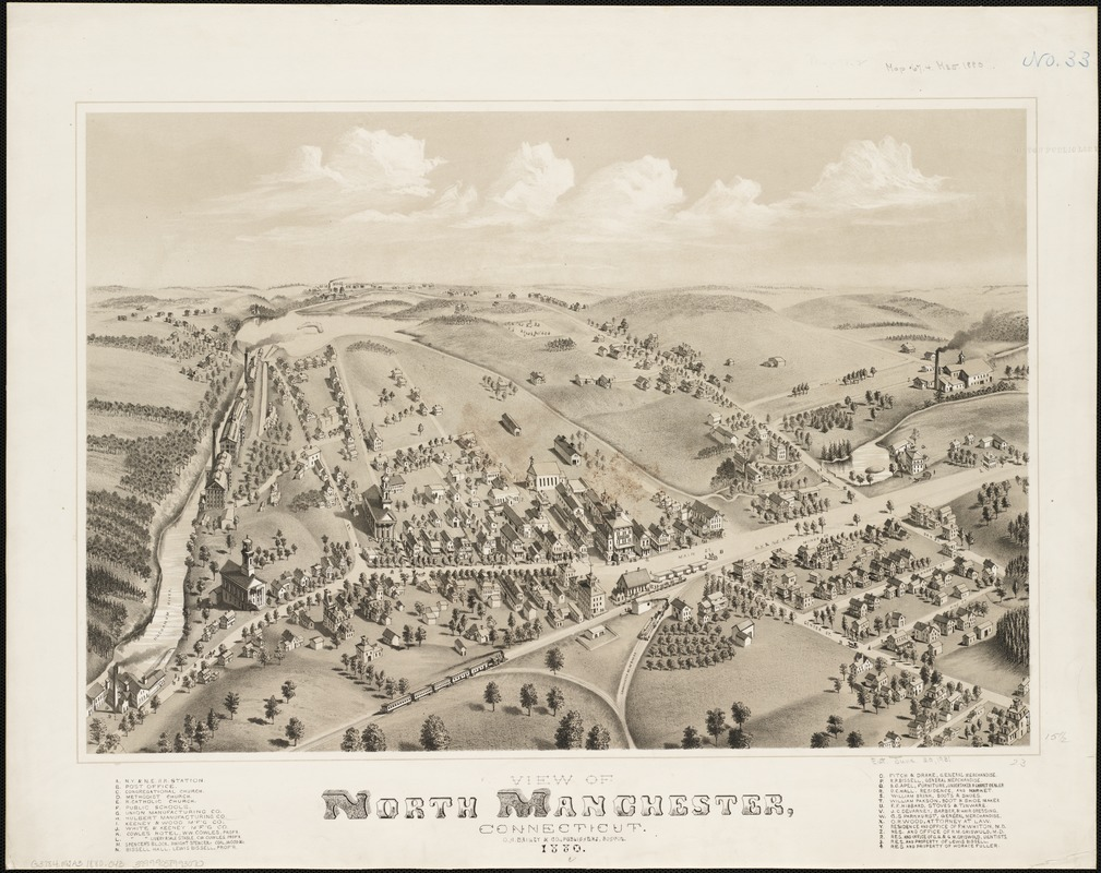 View of North Manchester, Connecticut