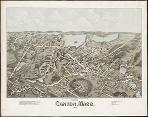 View of Canton, Mass
