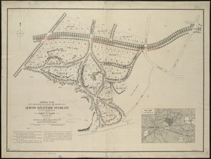 General plan for subdividing into roads and building lots, the property of the Newton Boulevard Syndicate, blocks 1, 2, 3, 4, 5, 10 & 12