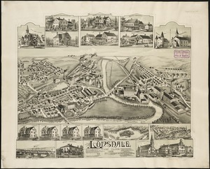 Map of the cities of Pawtucket Central Falls Digital Commonwealth