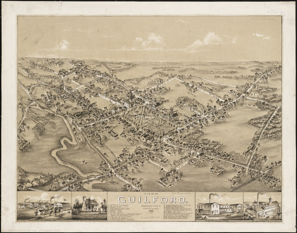View of Guilford, Connecticut