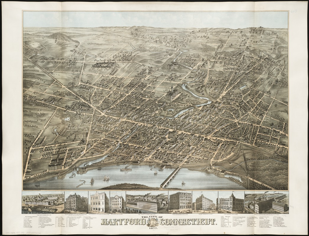 The city of Hartford Connecticut
