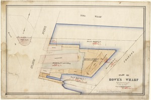 Plan of Rowe's Wharf