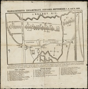 Massachusetts Encampment, Concord, September 7, 8, and 9, 1859