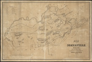 Map of Somerville, Mass