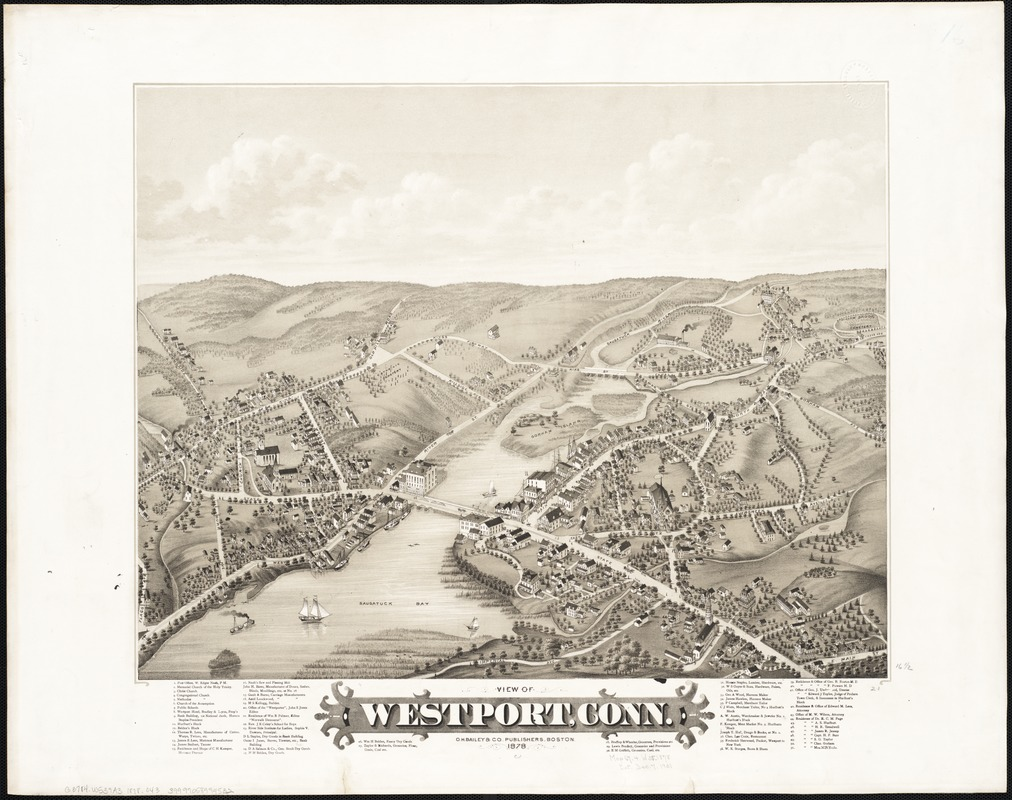 View of Westport, Conn