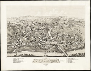 View of New Milford, Conn