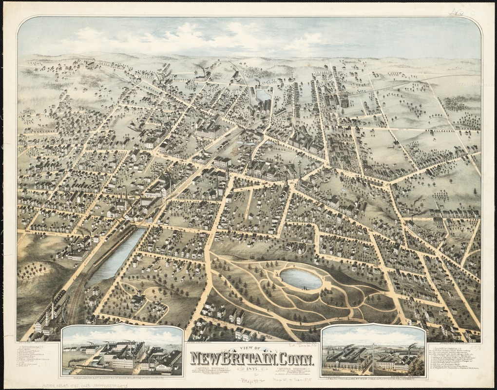 View of New Britain, Conn
