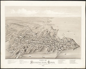 View of Stonington, Conn