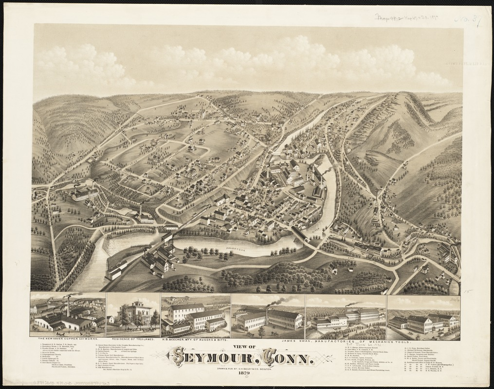 View of Seymour, Conn