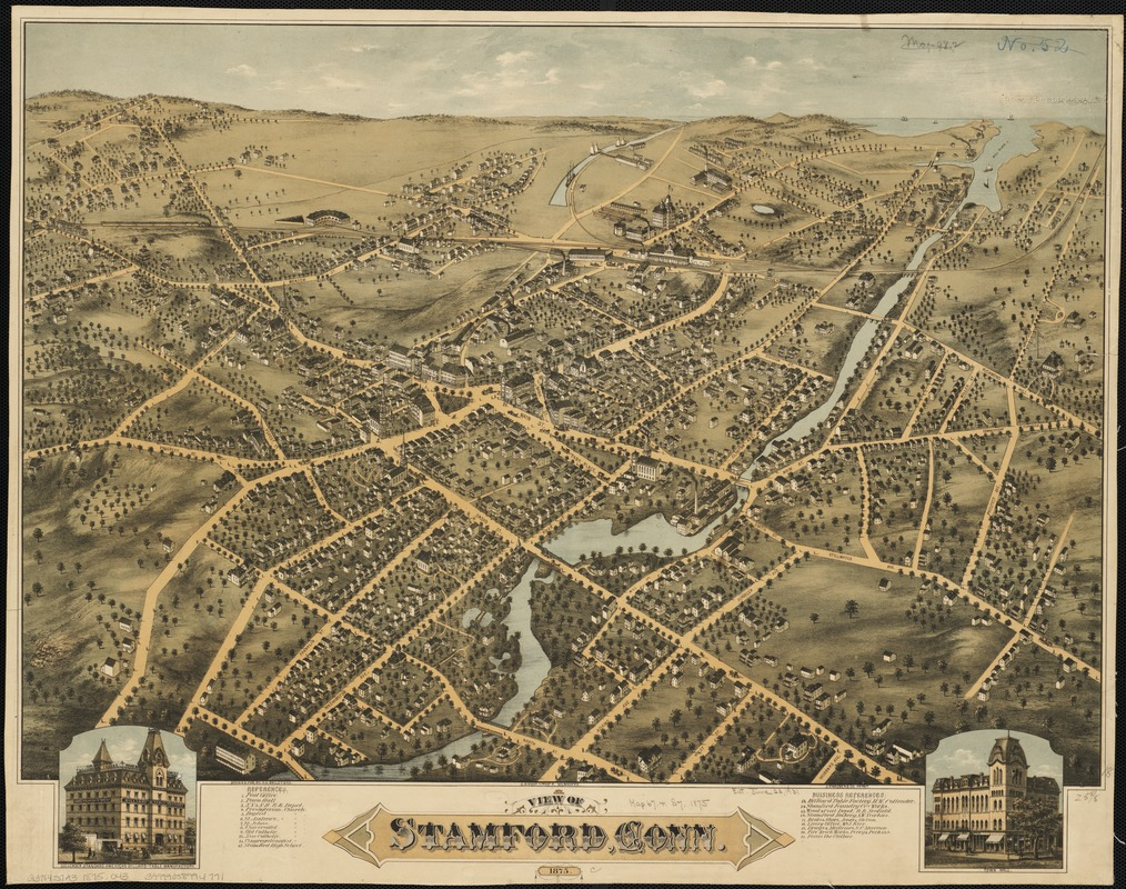 View of Stamford, Conn