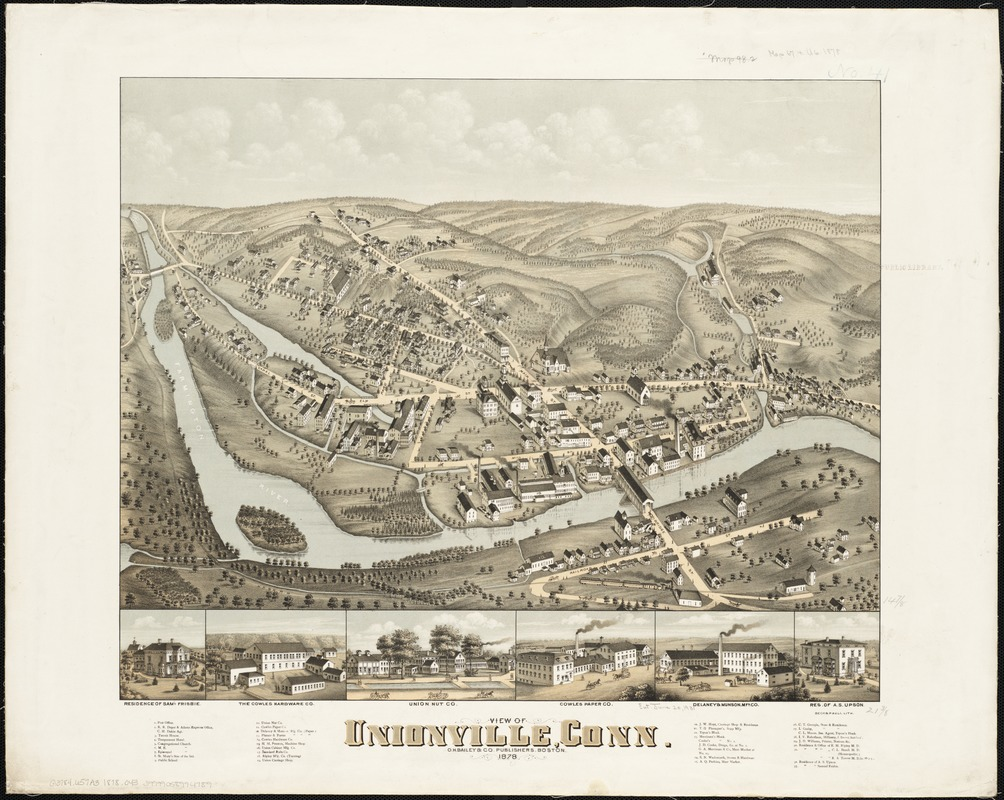 View of Unionville, Conn