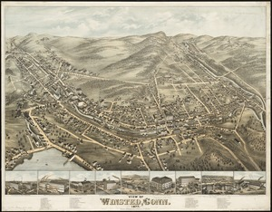 View of Winsted, Conn