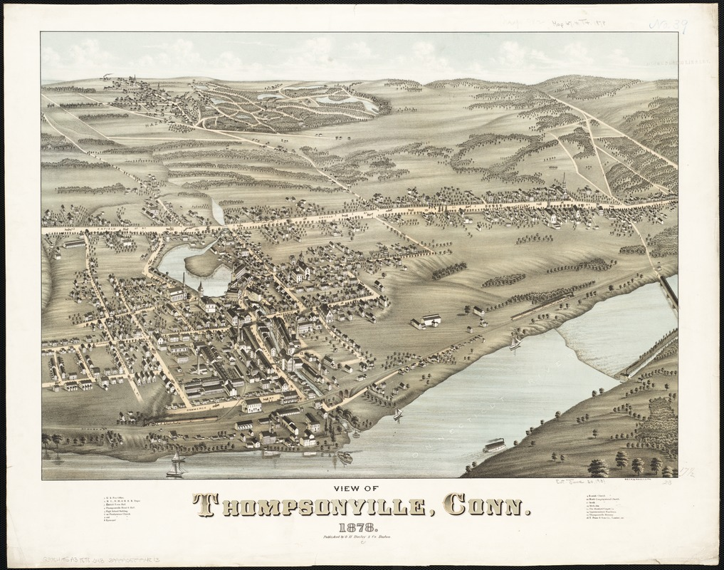 View of Thompsonville, Conn