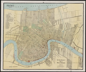 The Times-Picayune's map of New Orleans
