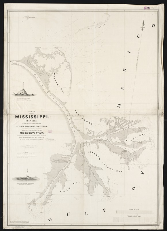 Delta of the Mississippi