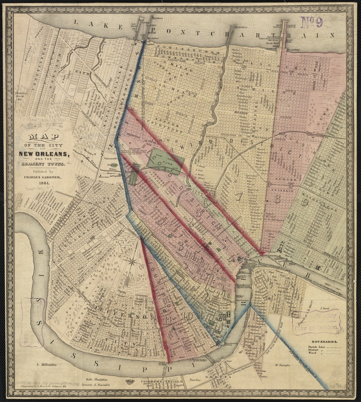Map of the city of New Orleans, and the adjacent towns ... City Of New Orleans Map on city of brooklyn map, city of wisconsin map, city of shanghai map, city of kenner map, city of college park map, city of fort smith map, city of las vegas strip map, city of louisiana map, city of alamosa map, city of youngstown map, city of alabama map, city of las vegas nevada map, city of panama city map, city of oklahoma map, city of alcoa map, city of oslo map, city of jasper georgia map, city nc map, city of atlantic city map, city of la junta map,