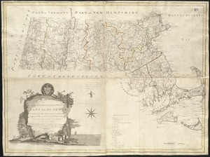 An accurate map of the Commonwealth of Massachusetts exclusive of the district of Maine