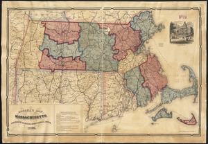 Russell's map of Massachusetts