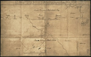 A map of the country adjacent to the north boundary line of the colony of Rhode Island as the same was run by commissioners appointed for that purpose by the general assembly of the said colony in the year 1750