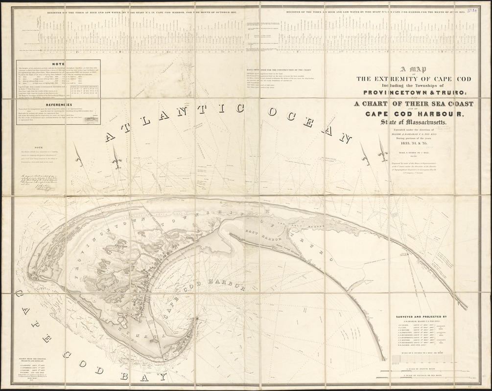 A Map Of The Extremity Of Cape Cod Norman B Leventhal Map