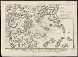 Gen. Washington's Revolutionary campaign war map