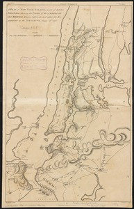 A plan of New York Island, part of Long Island &c. shewing the position of the American and British Armies, before, at, and after the engagement on the Heights, August 27th 1776
