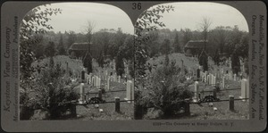 Cemetery at Sleepy Hollow, N.Y.