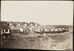 Camp of 21st Michigan Infantry at Chattanooga Tennessee