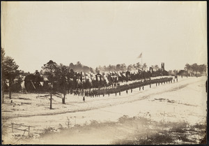 Camp Jameson, 2nd Maine Infantry, Hall's Hill, Virginia