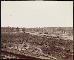 Confederate line near Atlanta, Georgia